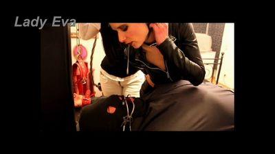 Cruel mistresses humiliate loser cruelly